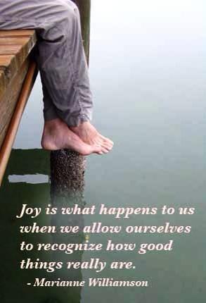 Joyous Quote